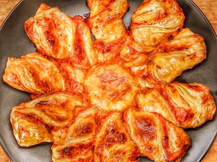 Pizza Puff Pastry Twists