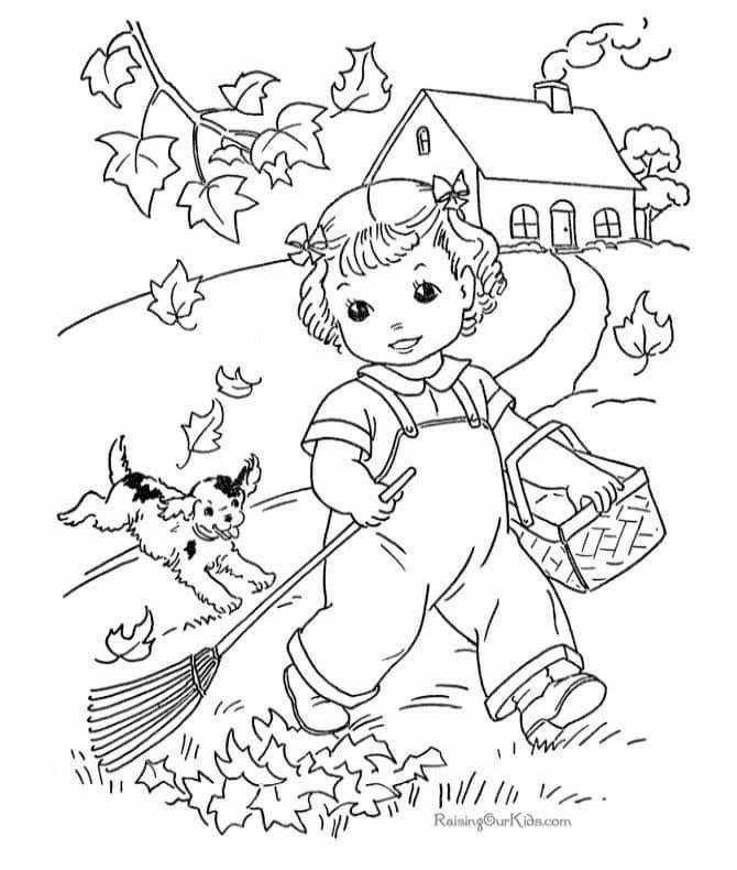 مدونة جنى للأطفال مدونة خاصة بتعليم الأطفال بالإبداع والمرح Fall Coloring Pages Free Kids Coloring Pages Coloring Pages