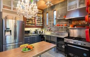 17 best ideas about stainless steel countertops on pinterest stainless steel cabinets. Black Bedroom Furniture Sets. Home Design Ideas