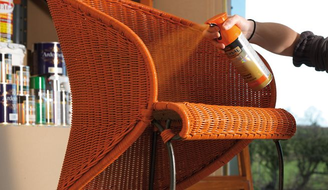 17 Best Images About Painted Wicker On Pinterest White Wicker How To Paint And Painting
