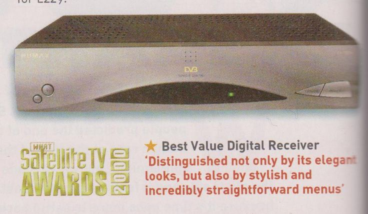 humax fi-fox digital satellite receiver