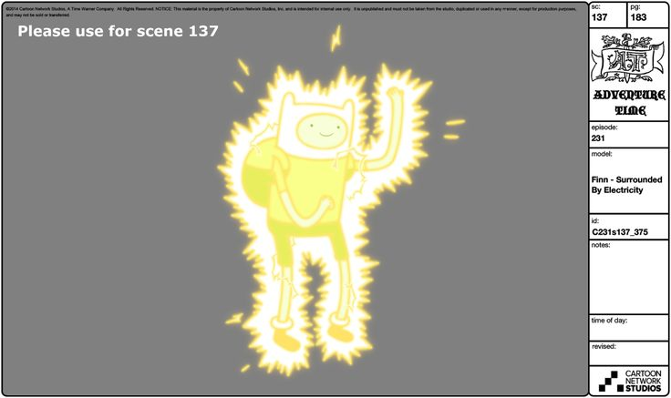Adventure Time Model Sheet