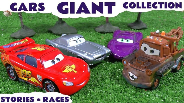 Giant Cars Story Video Play Doh English Episodes Thomas and Friends Surp...