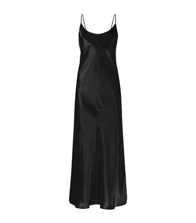 Harrods of London Long Night Gown in black available to buy online. Shop women's designer nightwear online and earn Rewards points.