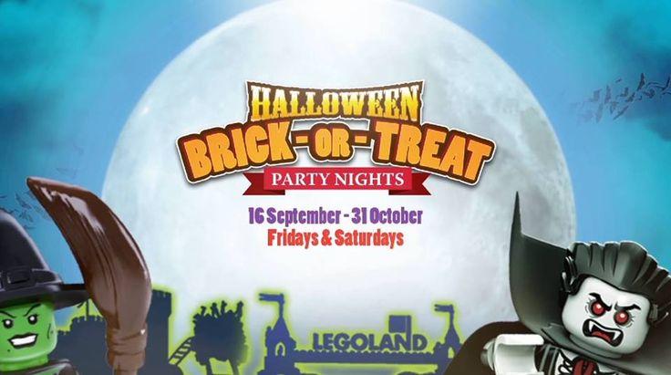16 Sep-31 Oct 2016: LEGOLAND Halloween Brick-or-Treat Party Nights