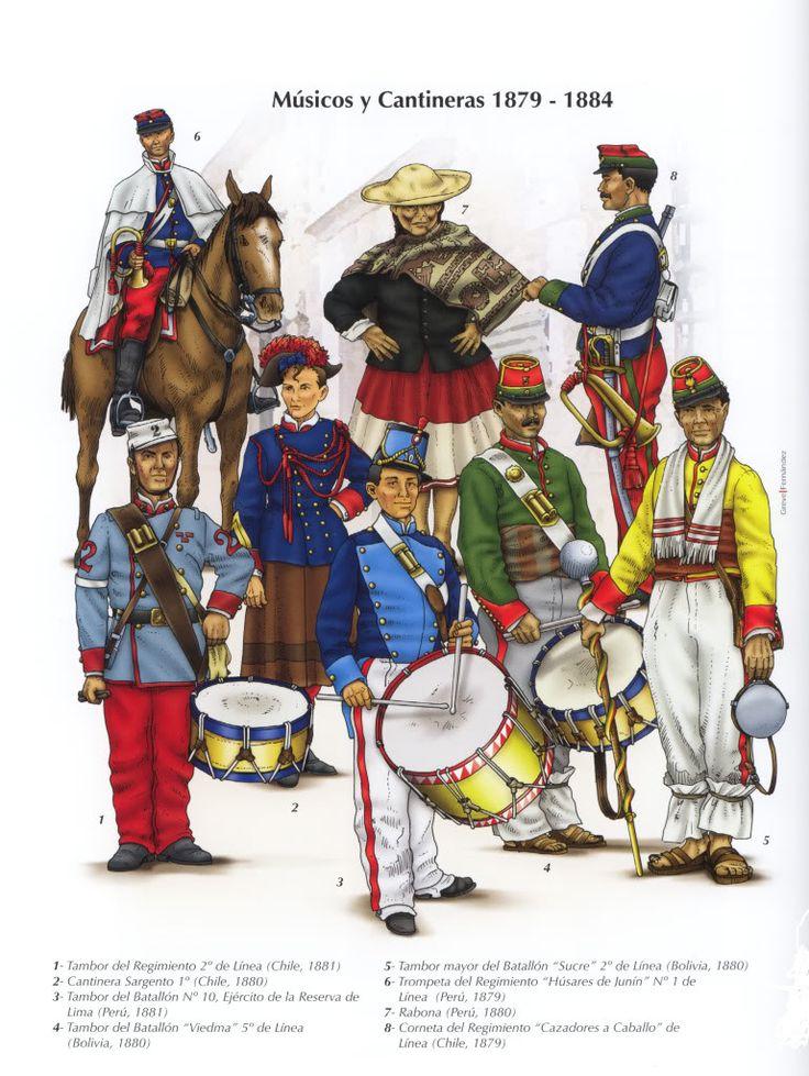chilenos, peruanos y bolivianos
