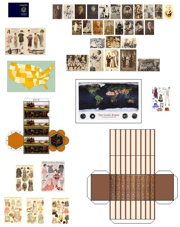 suvasi: Make your own diy doll house furniture and accessories from ...