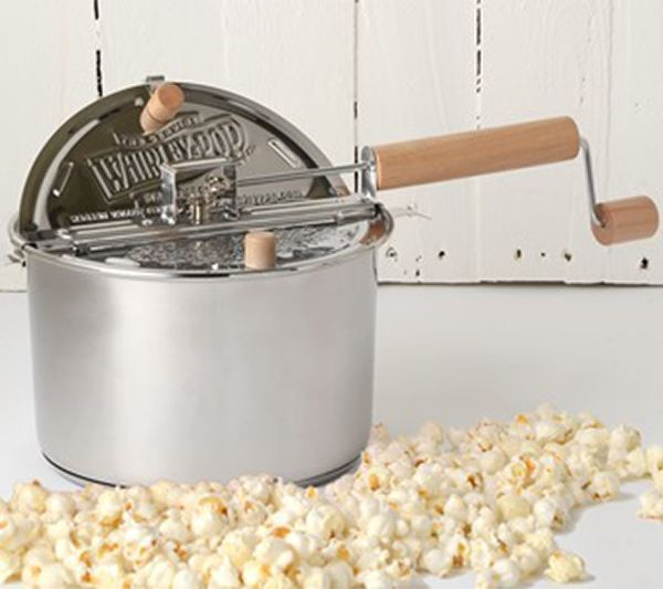 Whirley Pop Stainless Steel Stovetop Popcorn Popper, [2 to 5 Day FREE Delivery]