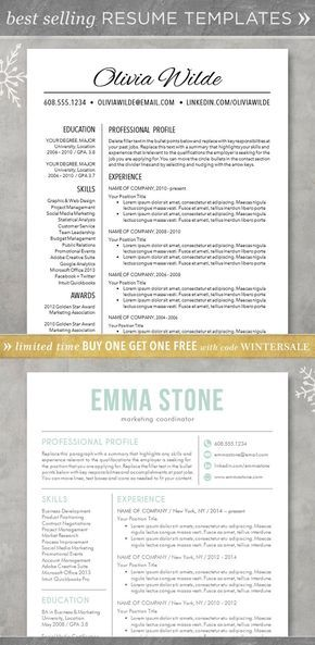 The 25+ best Free cover letter ideas on Pinterest Free cover - modern resume template word