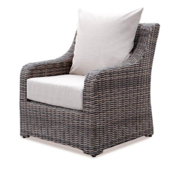 Astounding Valentin Patio Chair With Sunbrella Cushions New Deck Machost Co Dining Chair Design Ideas Machostcouk