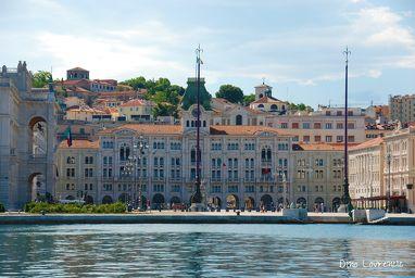 Piazza Grande presso Territorio Libero di Trieste