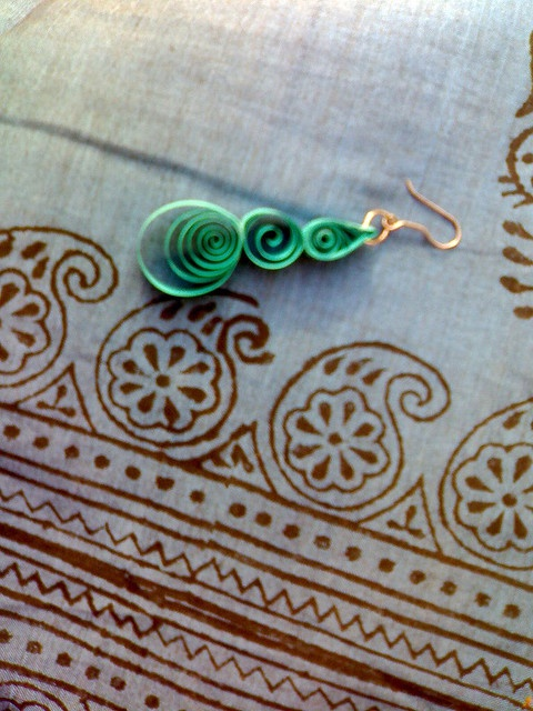 Quilled earrings ~ ! ~