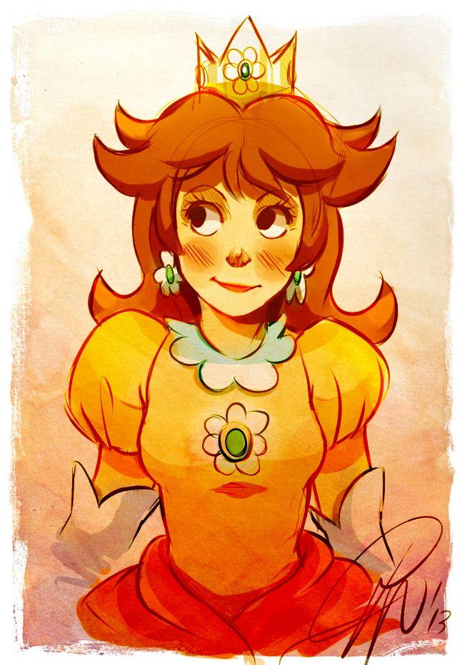 Princess Daisy by LillayFran.deviantart.com on @deviantART