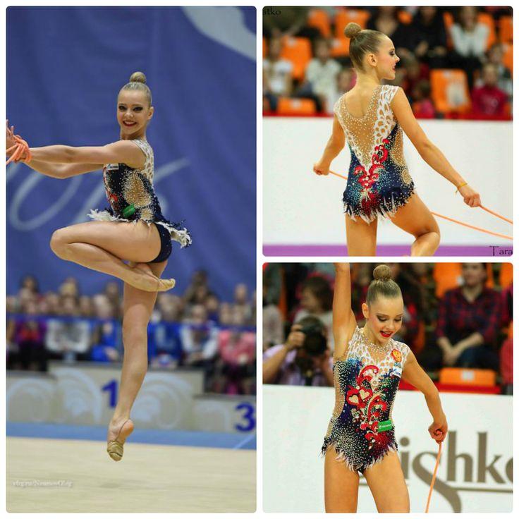 Polina Shmatko (Russia), junior, rope 2016