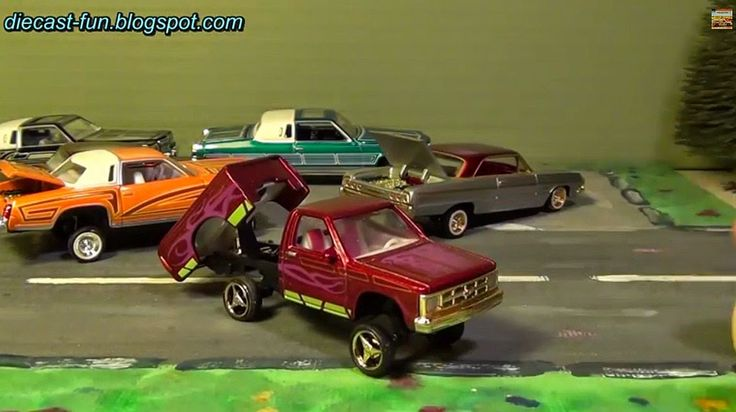 Diecast Fun: Revell ´90 Chevy S10 Pickup Wizzards Spell Lowrider 1/64 Awesome Model
