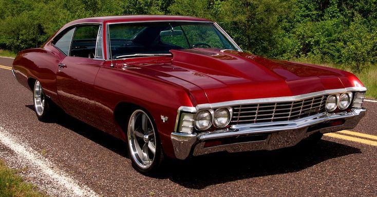 die besten 25 1967 chevy impala ideen auf pinterest. Black Bedroom Furniture Sets. Home Design Ideas