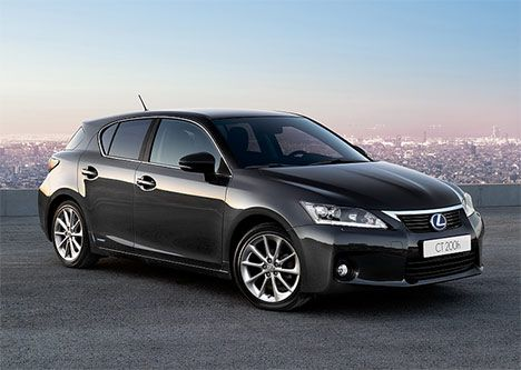 lexus hybrid ct: looks gorgeous, but is seriously wonder about the rear storage capacity compared to a full sized wagon