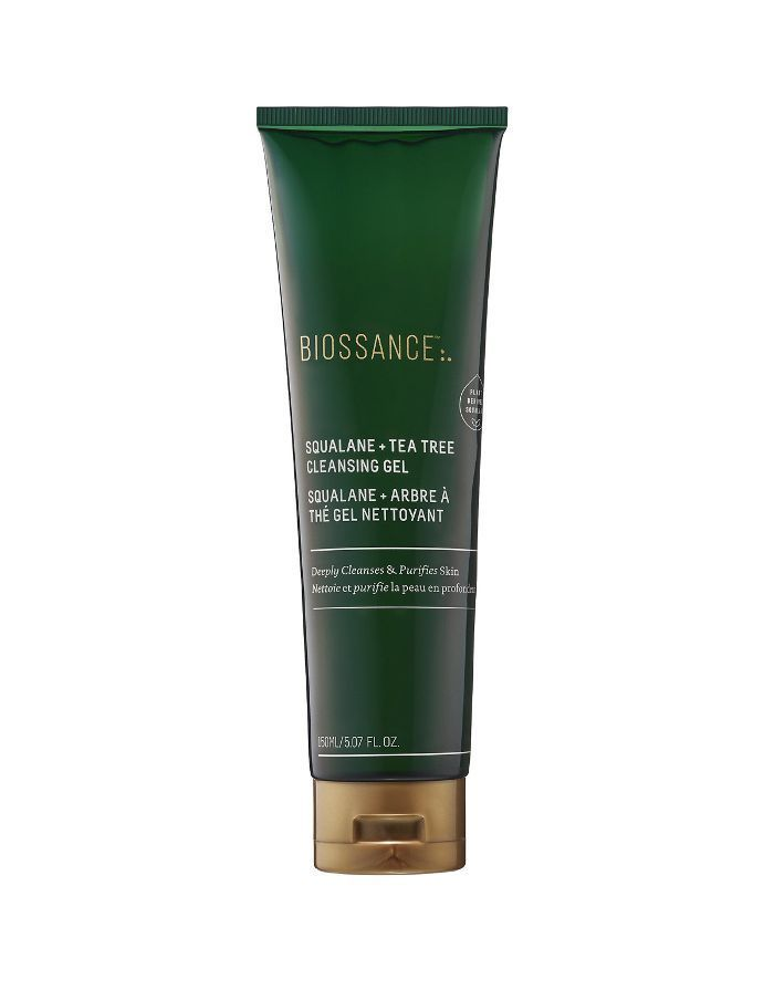 Biossance Squalane Tea Tree Cleansing Gel Cleansingmaskproducts