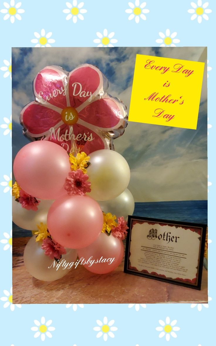 MOTHER'S DAY BALLOONS in 2020 Balloon gift, Mothers day