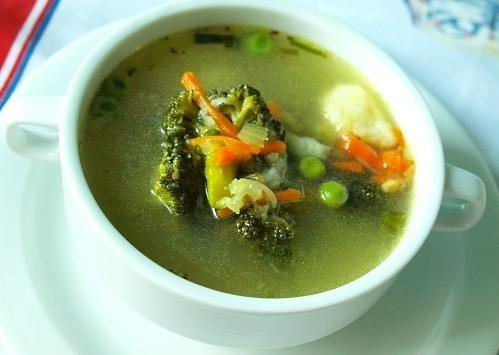 Технология приготовления порционно сладкого супа