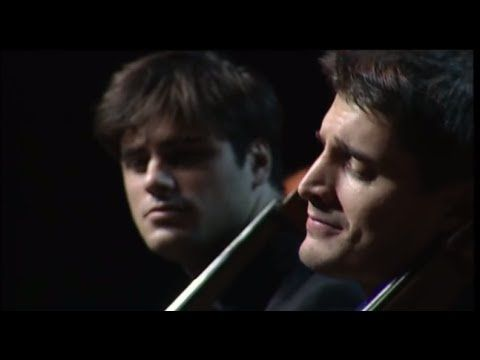 Oh My God...my heart melted!! Luka & Stjepan perfom d JKT doong!! >> 2CELLOS - Bach Double Violin Concerto in D minor - 2nd mov [LIVE VIDEO]