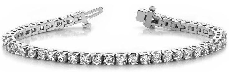Diamantarmband 4.00 Karat aus 585er/750er Gelb- oder Weißgold  #diamantarmband #diamonds #diamante #diamanten #gold #schmuck #diamantschmuck #juwelier #abt #dortmund #brillant #armband #armschmuck #hochzeit #diamondbracelet #braceletdediamants