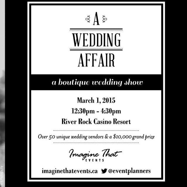 Come to say hi to BUletters to A Wedding Affair! @buletters