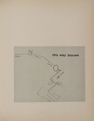 Stanley Brouwn- This Way Brouwn