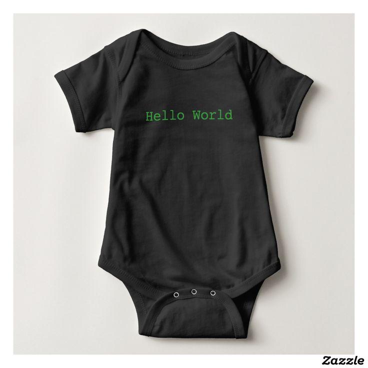 Programmer Baby Software Engineer Onesie Custom Baby Jersey Bodysuit