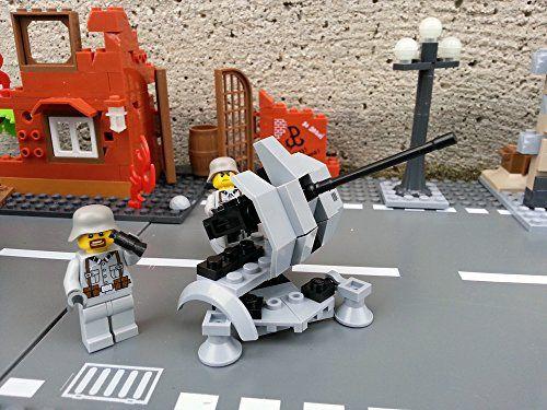 Modbrix 2181 - Bausteine 2-cm Flak 38, mobile Flugabwehrkanone inkl. Lego©…
