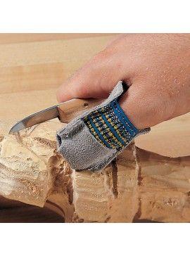 Protector de pulgar para tallar, tamaño GRANDE