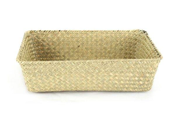 Natural Rectangular Basket 13'' x 9'' x 4''