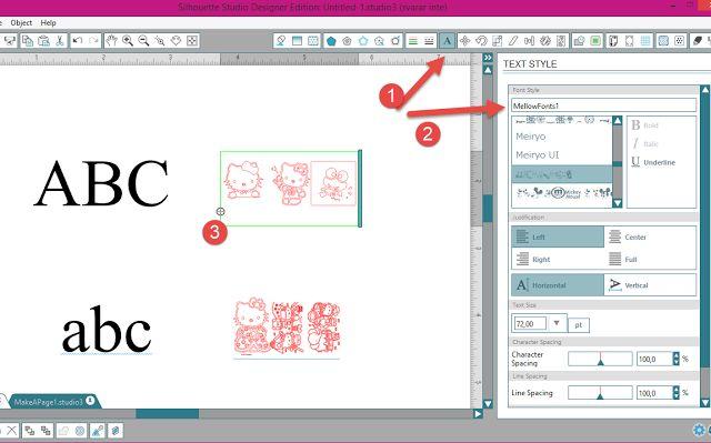 2-in-1 tutorial Dingbats + Fill Pattern in Silhouette