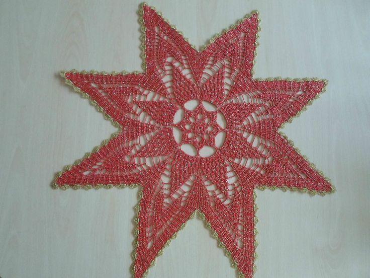 Handmade doilies (24 inch) (60cm) by Ela Mazek