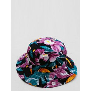 Hawaiian Black Bucket Hat