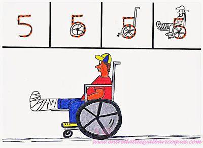 El 5:Una silla de ruedas