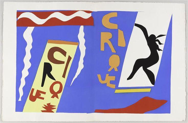 Henri Matisse, Le Cirque (The Circus)   book Jazz (1947)   II.