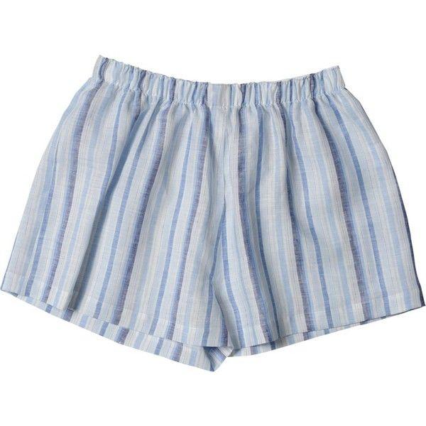 GIRLS BOXER SHORT (1176790 PYG) ❤ liked on Polyvore featuring shorts, bottoms, clothing - shorts and pajamas