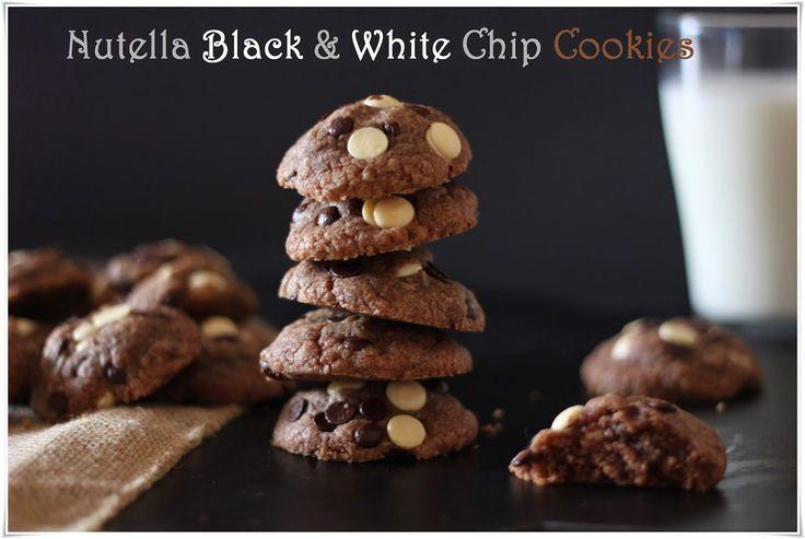 My Life of Details (Mi Vida de Detalles): Nutella Black & White Chip Cookies