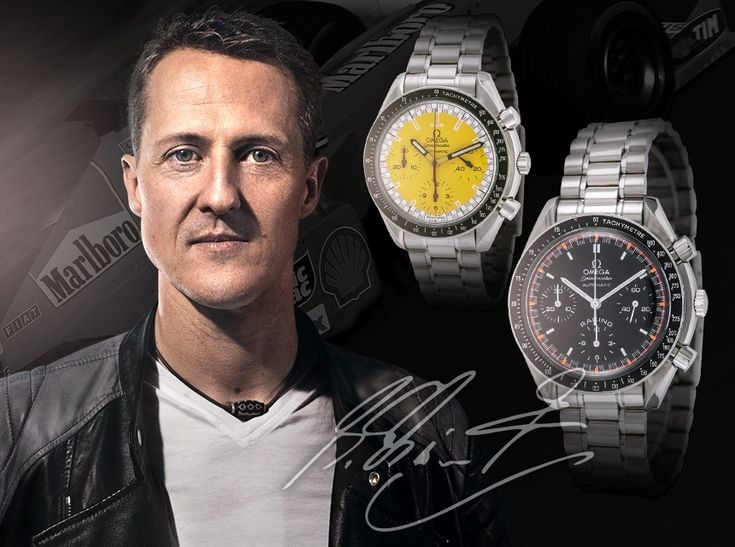 All about each Omega Speedmaster Michael Schumacher series of limited edition vintage watches and their current second-hand market status.