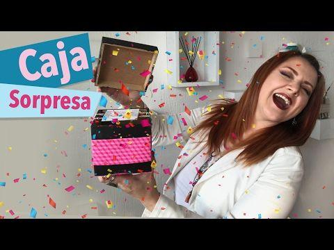 Caja Sorpresa :: Regalo Explosivo de Confeti :: Chuladas Creativas - YouTube