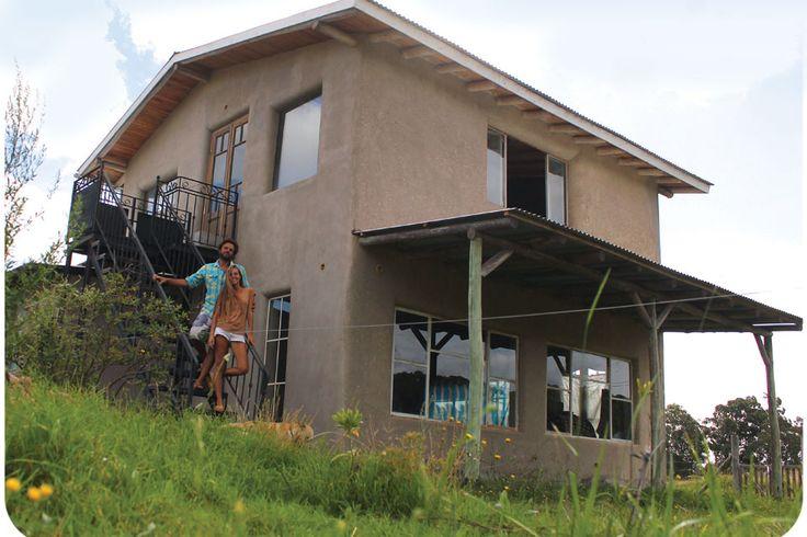 Arquitectura natural: ¿cómo construir una casa eco?  Casa de adobe (ladrillo de arcilla).