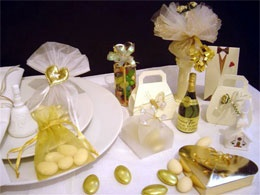 Luxury Gold Wedding Favour Collection by Treasured Favours