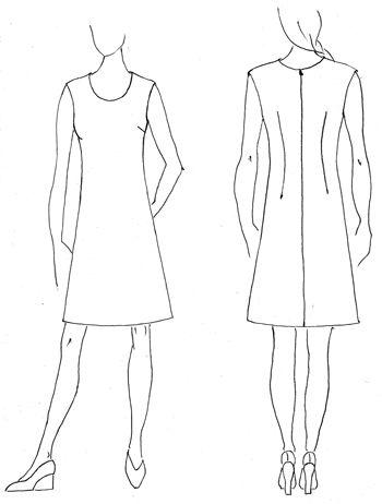 Gratis-Schnittmuster.de: Sommerkleid Gr. 38-44