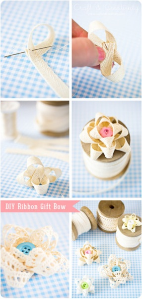 Idea - Fabric Bows