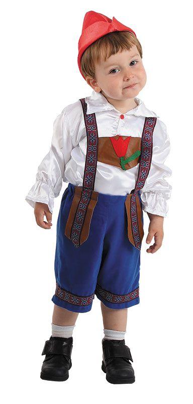Disfraz de holand s para ni o holanda ainda vou - Traje de duende para nino ...