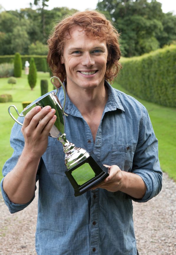 Sam Heughan on fans and fame his relationship with Caitriona Balfe and Outlander series 2