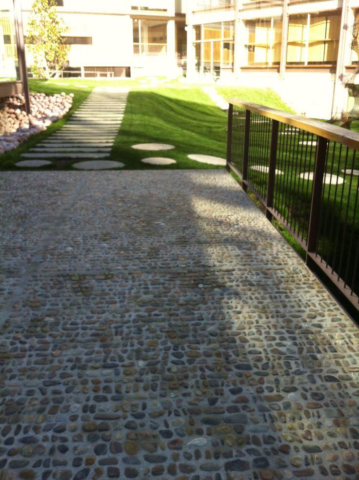25 melhores ideias sobre pavimento exterior no pinterest - Pavimento madera exterior ...