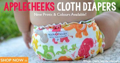 NatureBumz, Canadian, AppleCheeks Cloth Diaper retailer