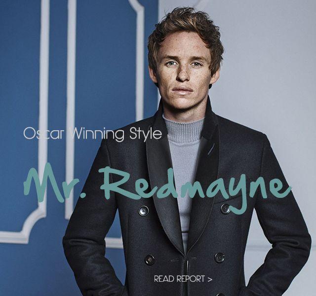 Oscar Winner Mr Eddie Redmayne